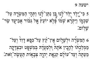 Исаия 9:6–7: Родится младенец, и нарекут Ему имя «Бог крепкий»