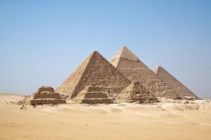 древние люди пирамиды