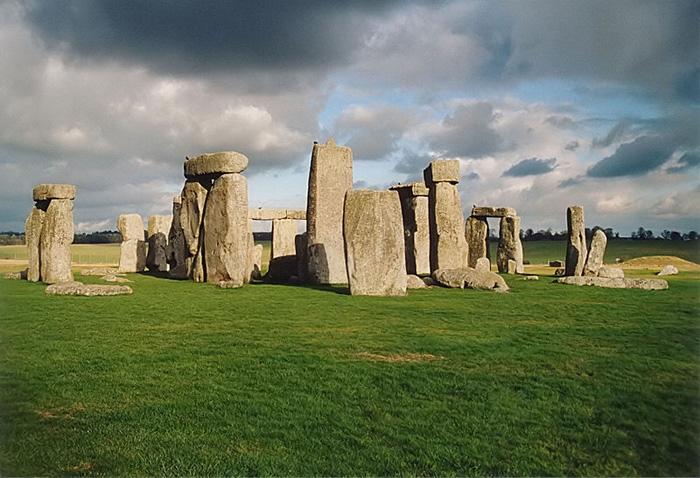 древние люди Стоунхендж