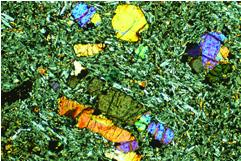 Изображение типичного образца недавнего базальтового лавового потока
