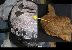 Древние рисунки на камнях Ики