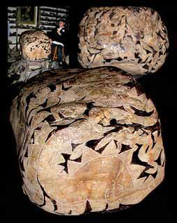Рисунки на камнях Ики