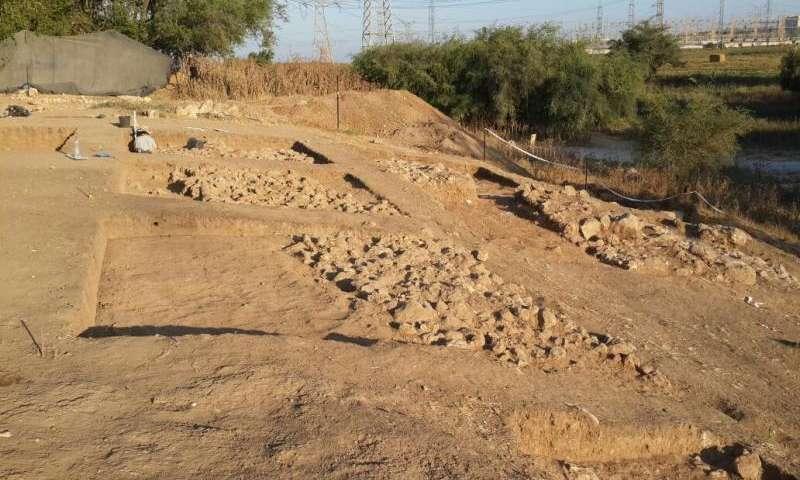 Раскопки в Гефе